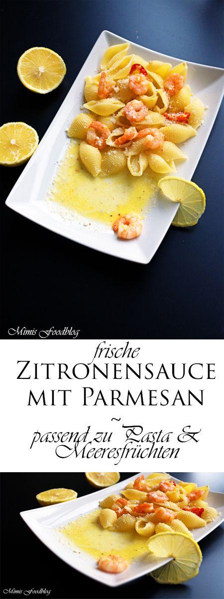 Eine traumhafte Zitronensauce. Sie passt zu Pasta, Fisch und Geflügel. Eine wunderbare Zitronen- und Parmesankomponente bestimmen diese Sauce.