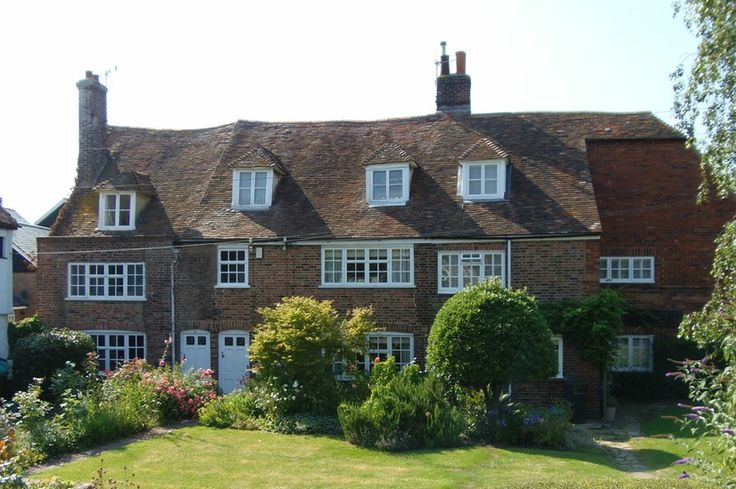 Mooie cottages in Rye.