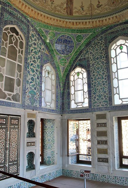 Istanbul: Topkapı Palace (Harem, Privy Chamber of Ahmed I) | Flickr - Photo Sharing!