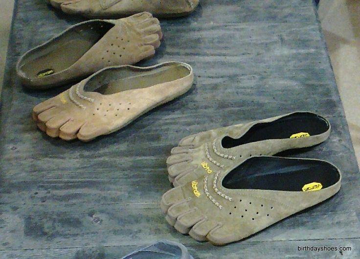 Vibram Leather Toe Shoes | From left to right, we see the men's Sorrento FiveFingers, the women's ...