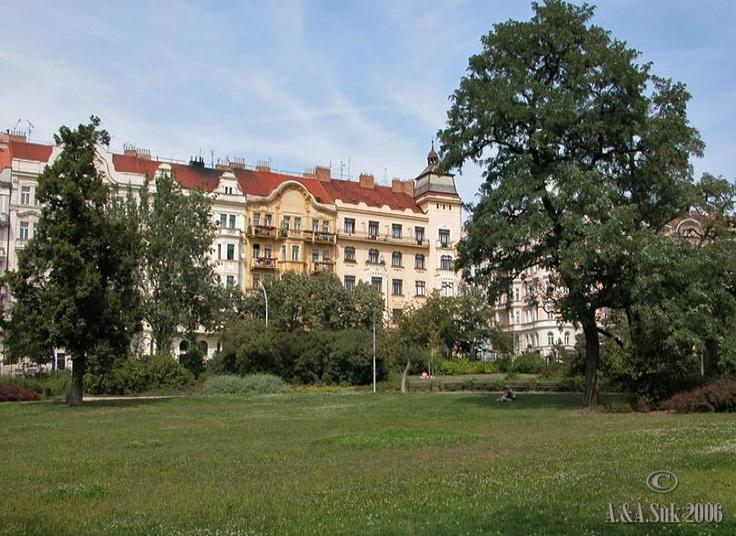 Praha - Heroldovy sady