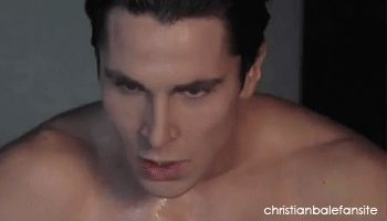 Christian Bale Equilibrium gif .... wow