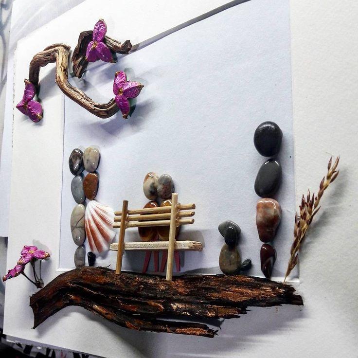 #pebbleart #handmadegift #personalisedgift #driftwoodfdvafiadi #fdvafiadi
