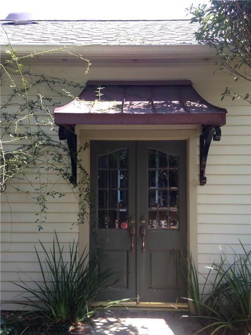 Lafayette Louisiana Dads House Front Door Awning