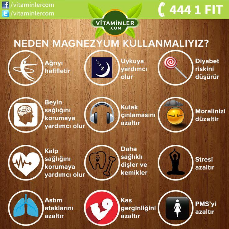 Magnezyumun faydalarını biliyor musunuz ? #metabolizma #destekleyici #besin…