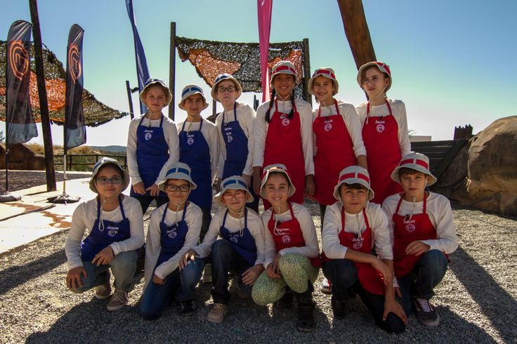 Equipo participante en Marterchef Junior España. Grabación en Dinópolis (Teruel). Emisión 25 diciembre de 2013