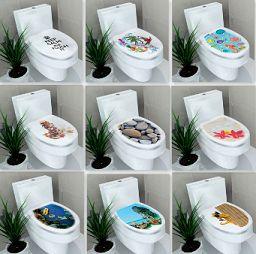 Stickers per WC disponibile in diverse fantasie. http://s.click.aliexpress.com/e/myV3rzv