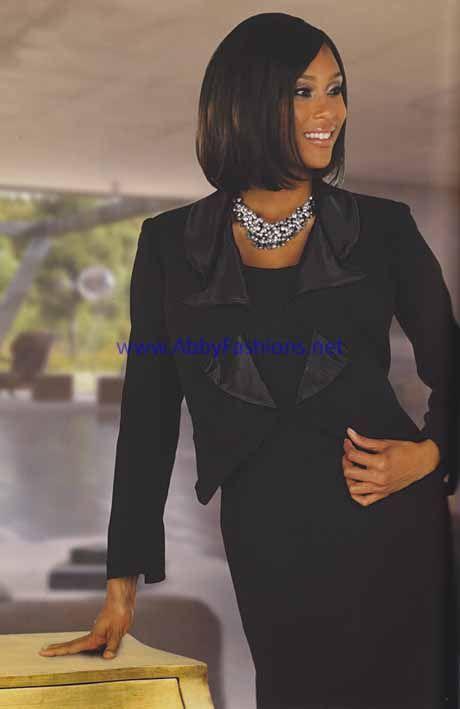 ebony ladies dress suits | Chancelle - Suits - 17210 - Suits for Women