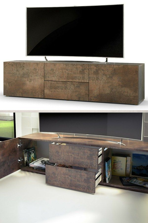 les 25 meilleures id es de la cat gorie meuble tv pas cher. Black Bedroom Furniture Sets. Home Design Ideas