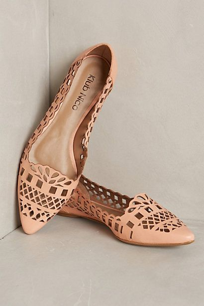 Different style than I was going for but would work & really awesome flats that I would wear to the bone if comfy! Gatinha Flats - anthropologie.com