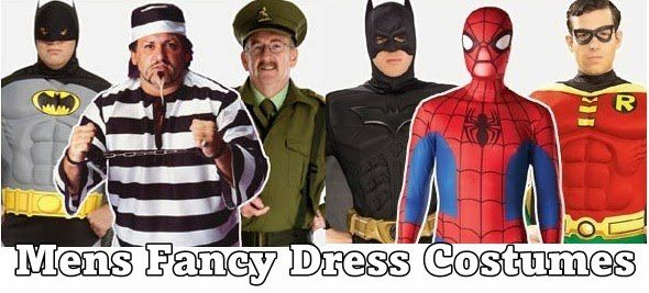 Shoes, trouser's shirts and wigs, complete your men's fancy dress costumes at the biggest fancy dress party store. Want to be Spiderman? Buy a men's fancy dress suit and mask from Party Britain today. http://www.partybritain.com/mens-fancy-dress-c-1.html