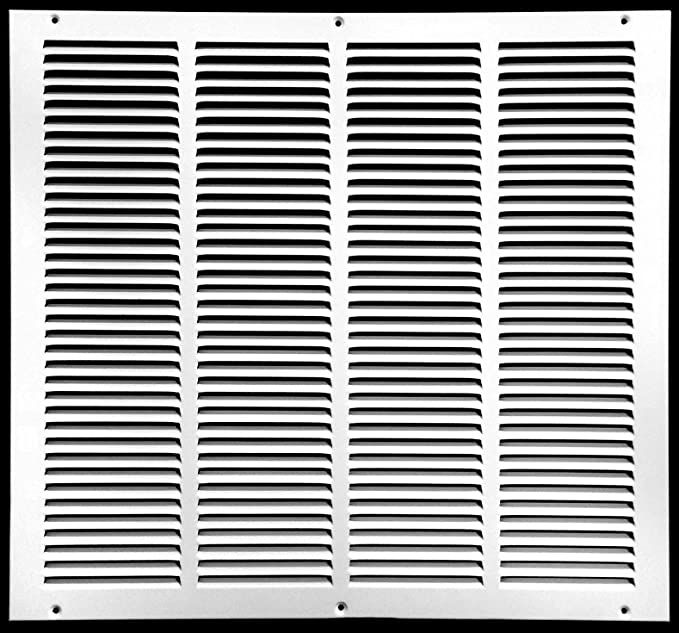 14 W X 14 H Steel Return Air Grilles Sidewall And Ceiling Hvac Duct Cover White Outer Dimensions 15 75 W X 15 75 H Heating V In 2020 Hvac Duct Grilles Steel
