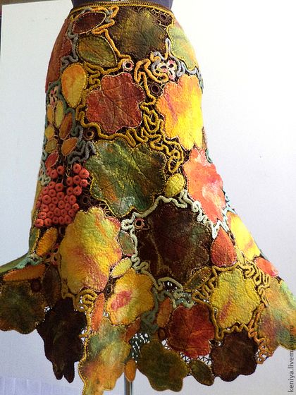 "SKIRT ""Autumn Waltz"""