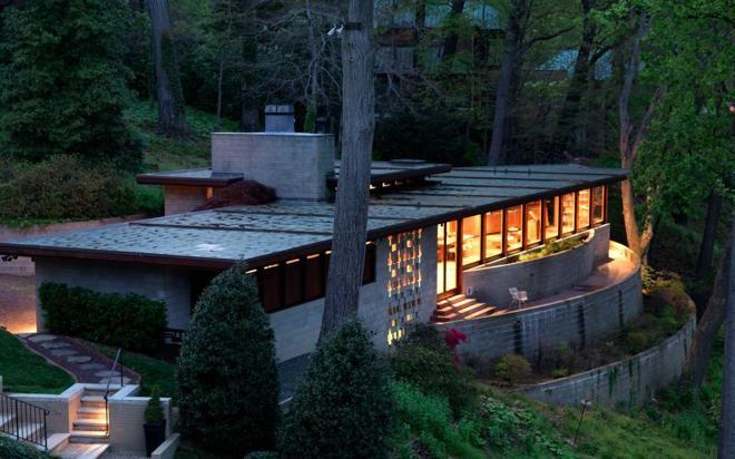 The Frank Lloyd Wright Marden House Usonian House Frank Lloyd