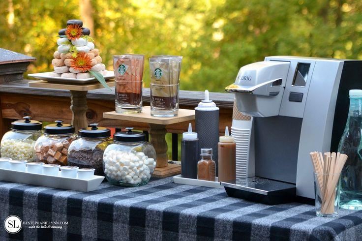 Fall Coffee Bar | coffee & crafts crafting party - bystephanielynn
