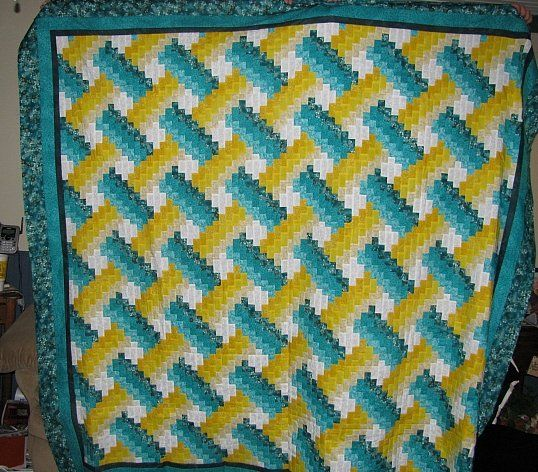 Weaver Fever Quilt Pattern I Had To Think On This One