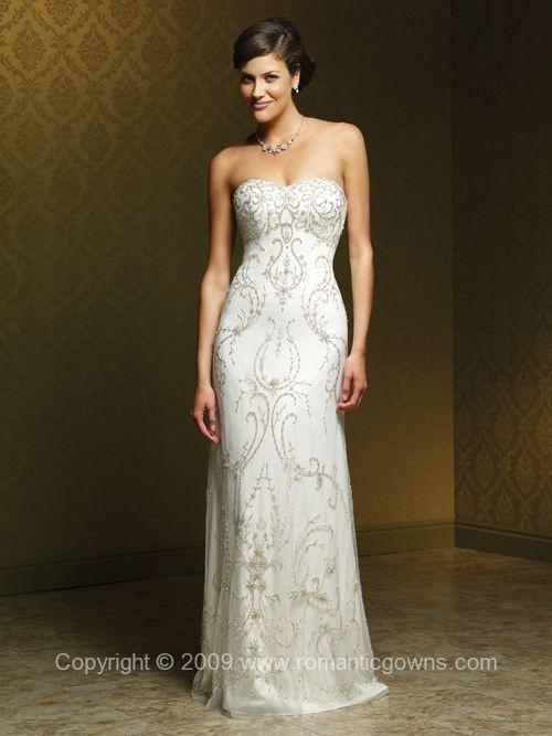 MS-M1006L Mia Solano Wedding Gown | Second Wedding Dresses