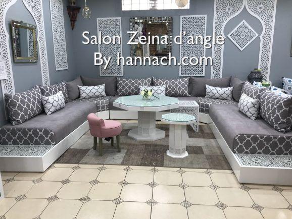 Salon Zeina D Angle Salon Salam Hannach Moroccan Living