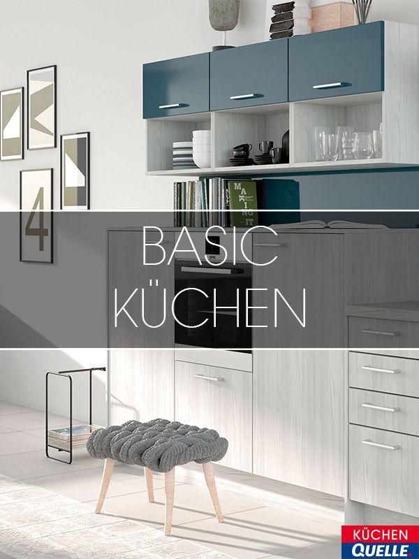Beautiful Unsere Basic K chen eignen sich perfekt als erste eigene K che oder f r Singles Sie