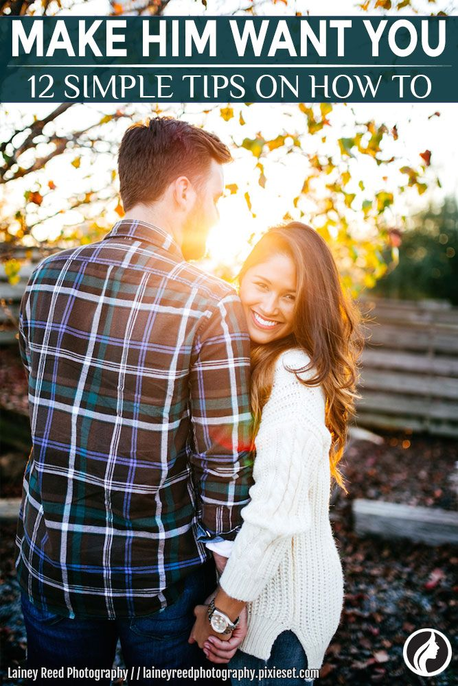 Any man that truly wants to be with you will not only desire you sexually, but emotionally as well. He will want to spend time with you and will make every effort to do so. However, men are wired completely differently than women, so they might need a little prodding.