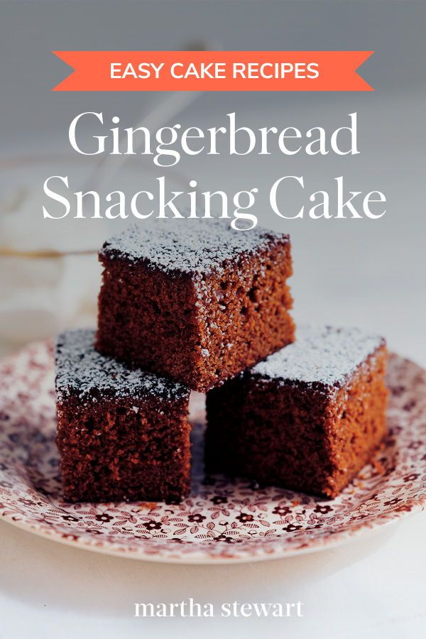 Gingerbread Snacking Cake Recipe With Images Fast Dessert