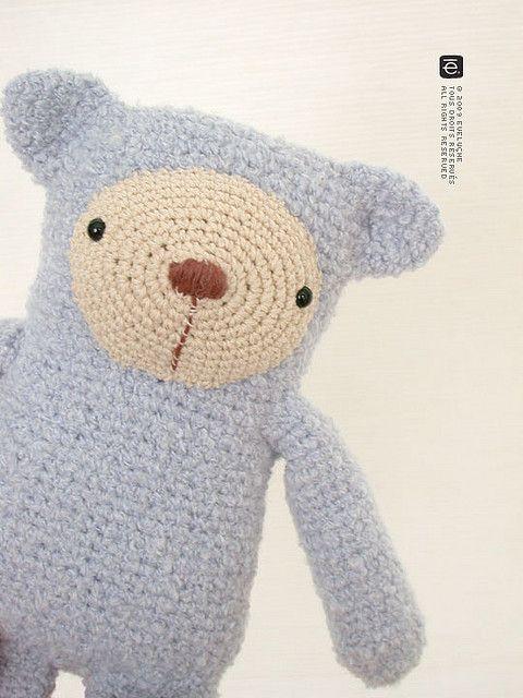 bear amigurumi #amigurumi #crochet