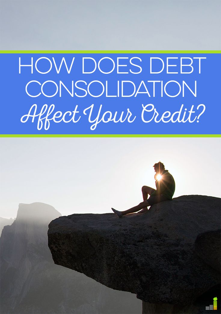Debt consolidation seems like a good idea to many who want to pay off debt. It's impact on your credit score is important to keep in mind as you plan.