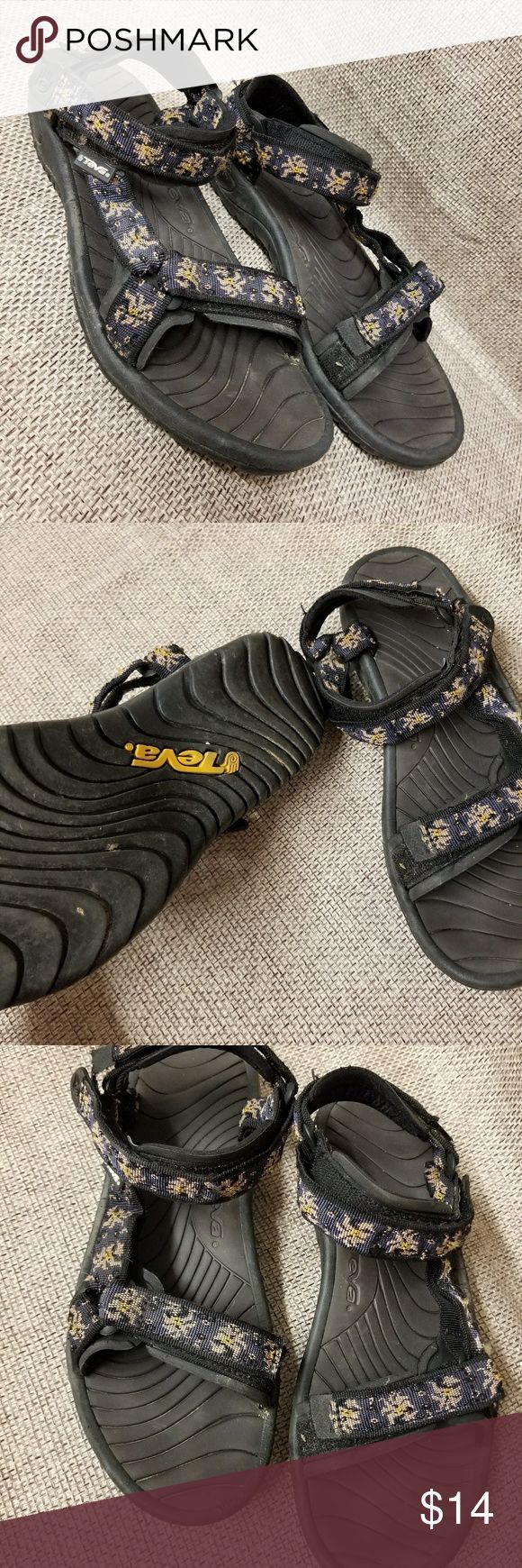 Men's teva Sandals size 10 Pre owned. Non smoking home. #24 Teva Shoes