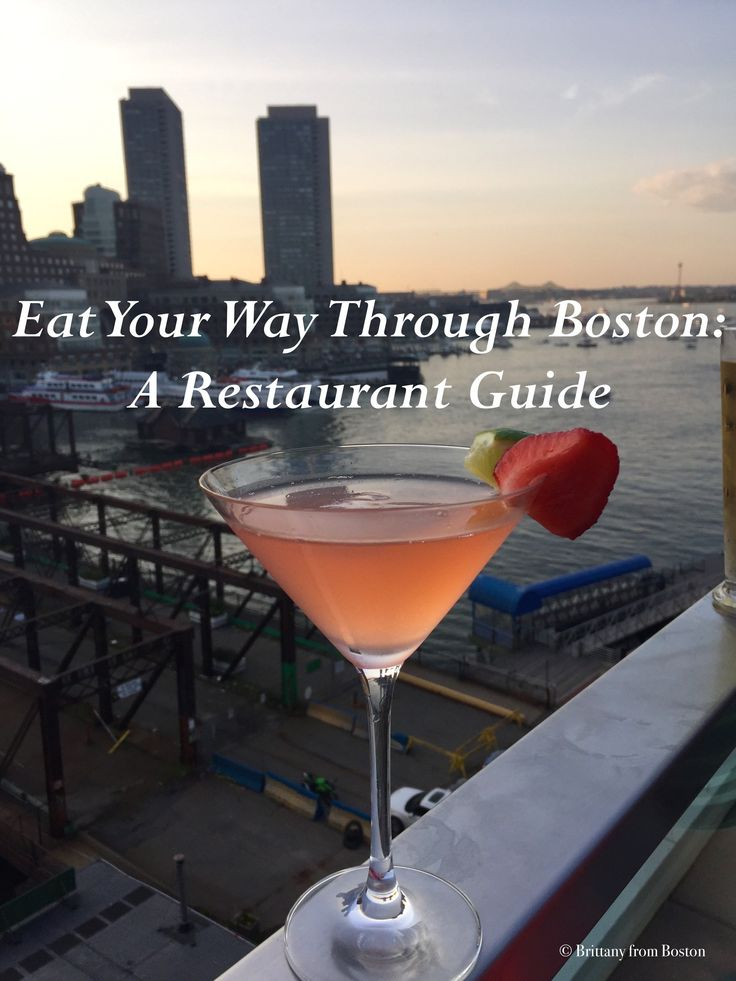 Eat Your Way Through Boston: A Restaurant Guide // Brittany from Boston