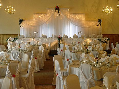 Gold Wedding Decorations Ideas   White and Gold Wedding Decorations