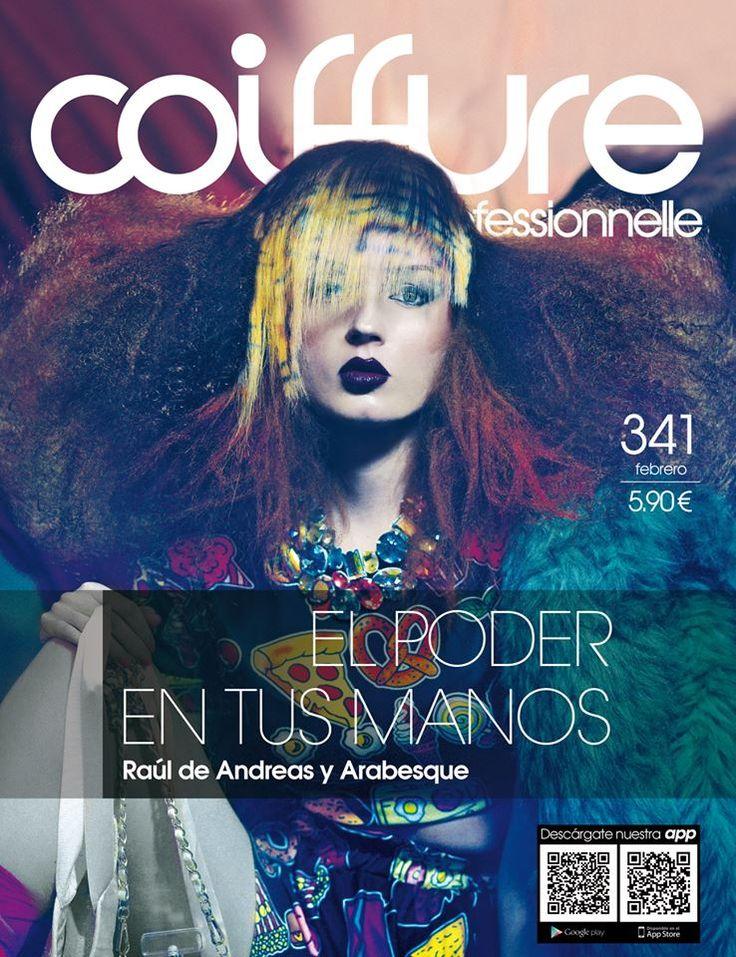 Somos portada de la revista @CoiffureProfessionnelle :) #NewCover.