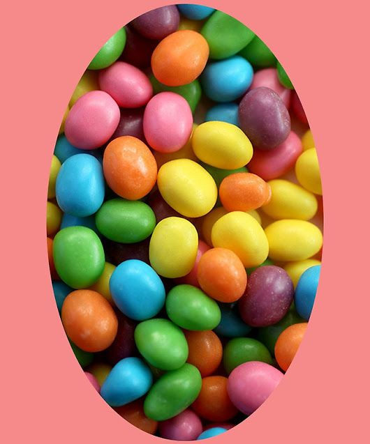 'Cool colorful sweet Easter Jelly Beans Candy'  by Bennellaris