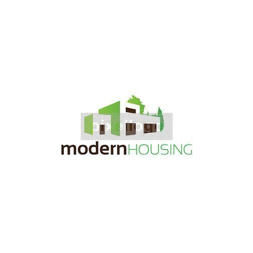 Modern Housing logo   Pixellogo