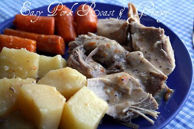Crock Pot Pork Roast, Potatoes, And Carrots Recipe - Food.com - I used this recipe not too long ago, it wasn't too bad but next time I'll go a bit lighter on the cayenne