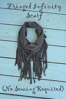 fringe benefits no sew scarf