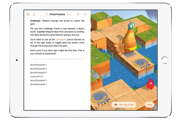 Apple's next big iPad app can turn just about anyone into a coder.