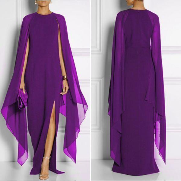 Beautiful Purple - Flowing Gown