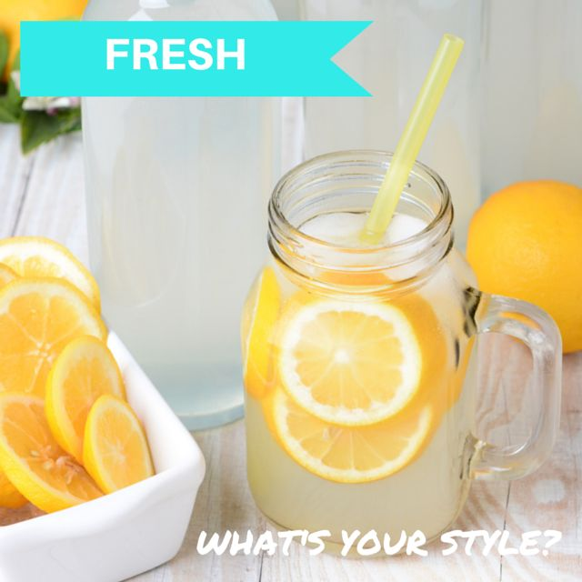 What's your wedding style? Are you a fresh bride? The perfect style for a summer or spring wedding. Mix crisp white with a pop of citrus colour. This style goes perfectly with an outdoor or picnic wedding. It keeps the day feeling young and fun! It's a hot style that's very on trend! #weddingstyle