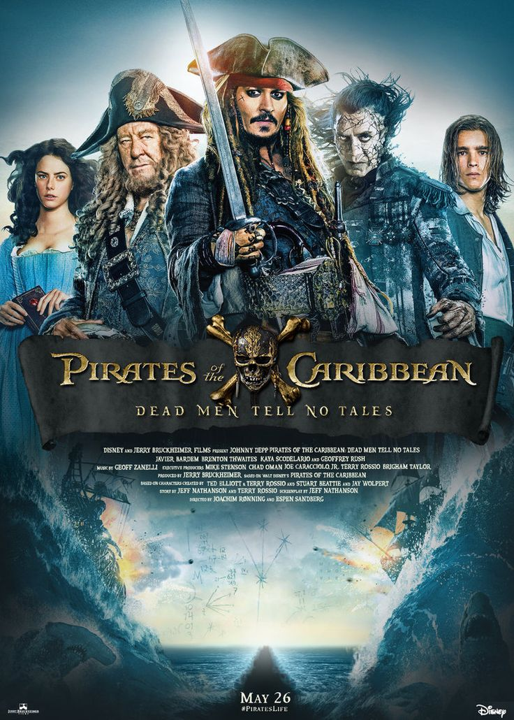 Pirates of the Carribbean starring Johnny Depp :)