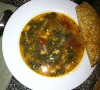 White beans, Soups and Beans on Pinterest