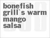 Bonefish Grill Warm Mango Salsa Recipe from CDKitchen