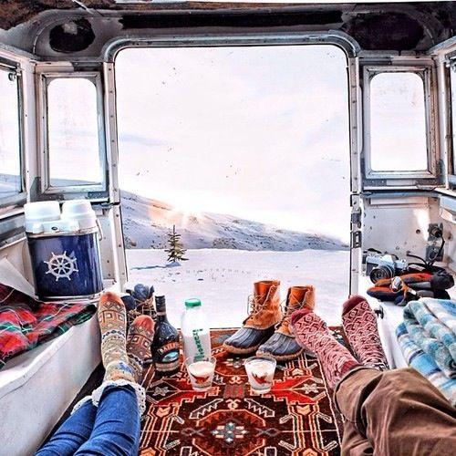 Cozy socks and new adventures