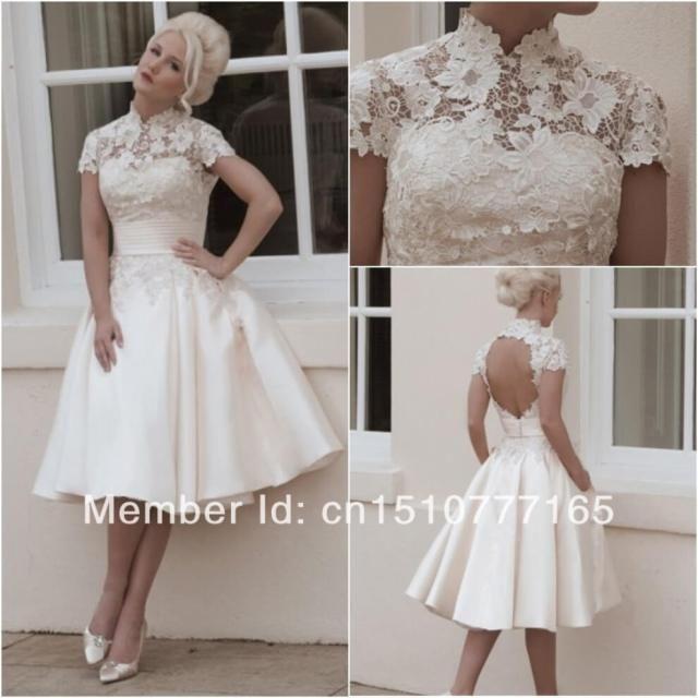 short wedding dress dresses uk tea length beach a line knee length within white lace wedding dress short