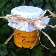 Candleberry Cottage hand poured orange-blossom candle in a Jar - 'Made with Love' Collection £2.50