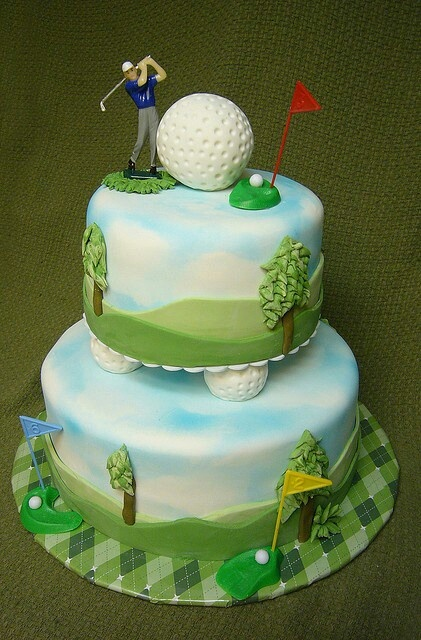 Best 25 Golf Themed Cakes Ideas On Pinterest Golf Cakes