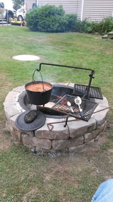 Pintogopin Club Pintogopin Club Mode Fashion Fire Pit Cooking Rustic Outdoor Kitchens Garden Fire Pit