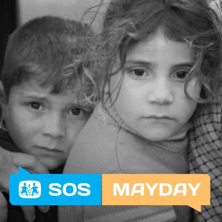Barna i Syria fryser! Gi en varm jakke Send SOS til 2160 (90 KR)