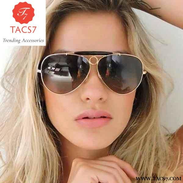 Pilot Luxury Designer Fashion Brand Ladies Sunglasses Women Aviation 0w8nvmN