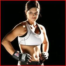 My fitness motivation... Gina Carano also known as agent Riley in Fast 6 :)