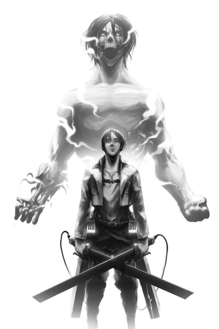 Shingeki no Kyojin - Eren Jaeger by Geoffrey-E.deviantart.com on @deviantART